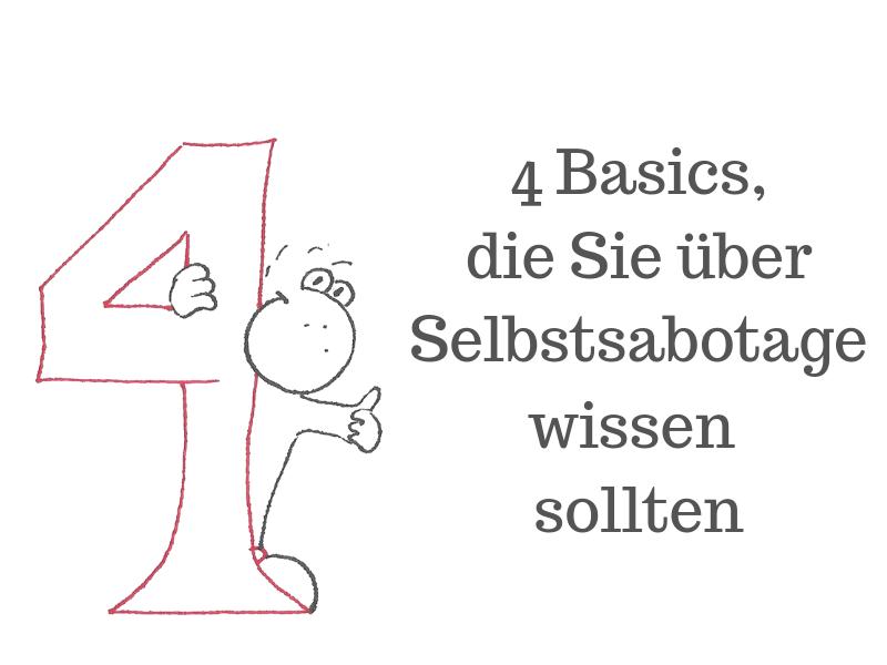 Beitragsbild 4 Basics die Sie über Selbstsabotage wissen sollten